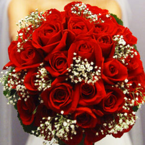 Buque de Noiva, Rosas Vermelhas