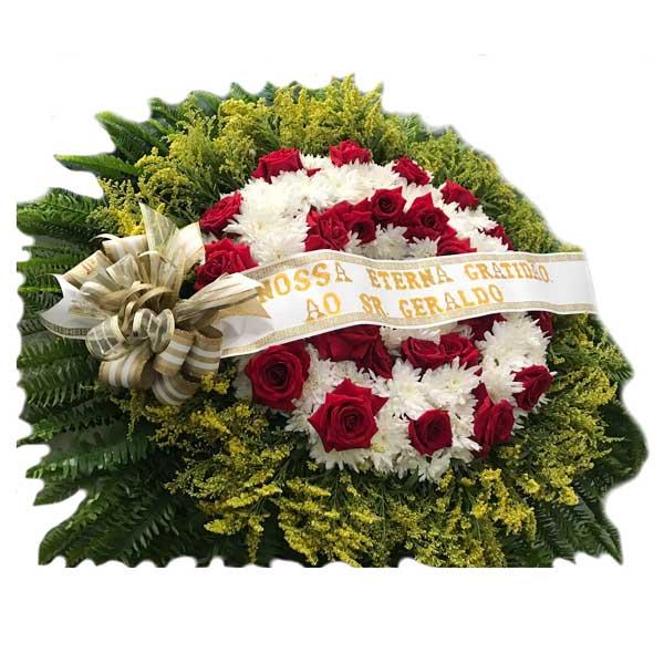 Coroa Fúnebre Média