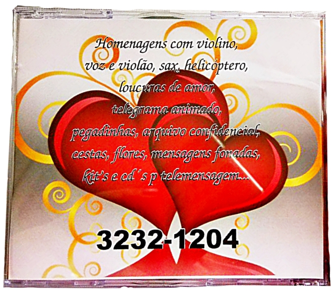 CD Tele mensagem - Trás