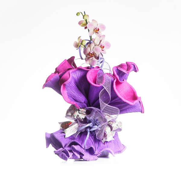 Ramalhete de Flores Orquídea.